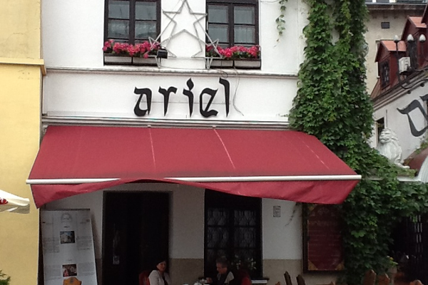 Restaurant in Krakow's Jewish ghetto
