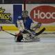 Jr. Redmen goalie Ben O'Keefe was outstanding over the weekend
