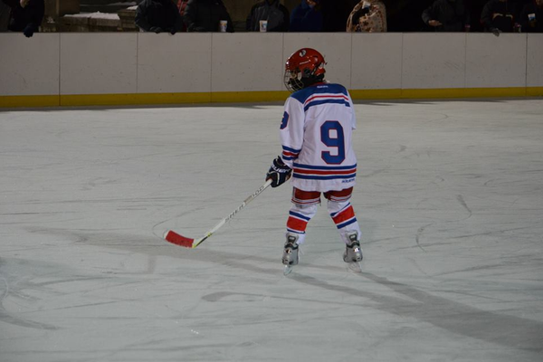 Jack Griffin had 1 goal and 1 assist over the weekend for the Jr. Redmen
