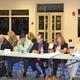 The Tewksbury School Committee listens to the debate over Article 17.