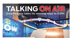 Talking on air Greg McElroy takes his winning ways to ESPN - Oct 10 2014 1027AM