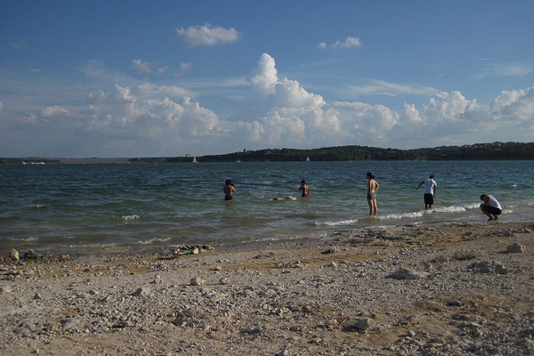 Lake Travis Beach. Photo courtesy of Crankyrabbit via Creative Commons.