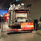 The fire truck used by Ladder 3 which lost 12 members while evacuating civilians at the Twin Towers.