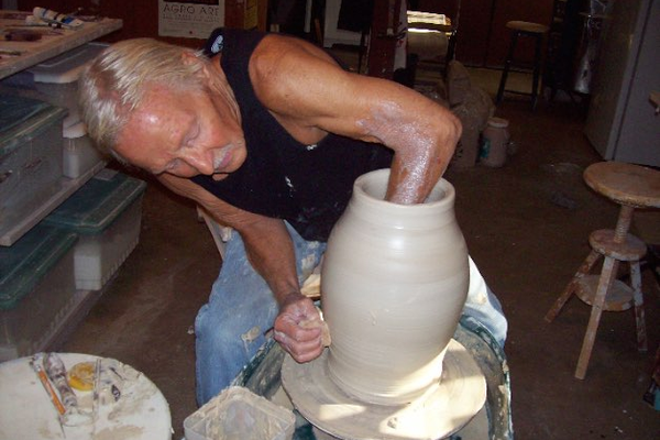 Potter Dick Ketelle will show in Penryn