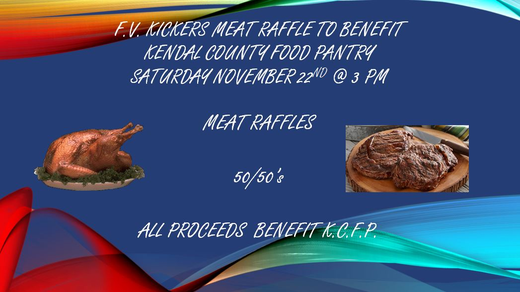 Meat raffle fall 2014