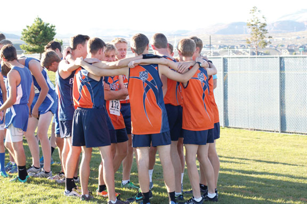 The Brighton High boys cross country team had high hopes to win state Oct. 22. Photos courtesy of Mike Zufelt