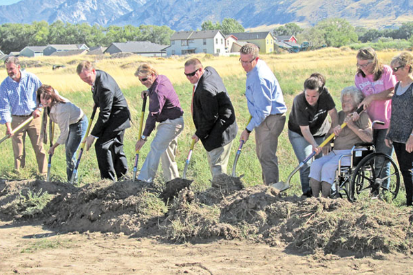 Wheadon Farm Park groundbreaking.