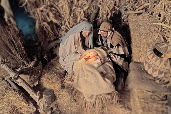 These photos capture scenes from past live nativities held in Draper. The nativity, which is moving to Bluffdale this year, is like a living museum, as actors silently reenact scenes surrounding the Christmas story. Photos courtesy of Jake Buntjer Photography