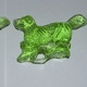 Clear toy candy dogs.
