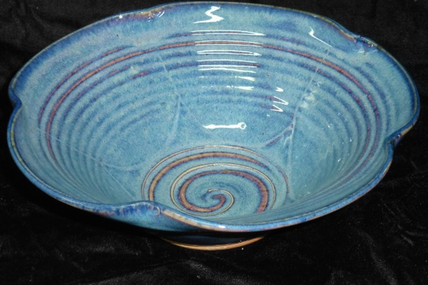 Lotus Bowl, $40 at Cloud's Porcelain. 608 1/2 Sutter Street, Folsom. 916-985-3411, cloudspottery.com.