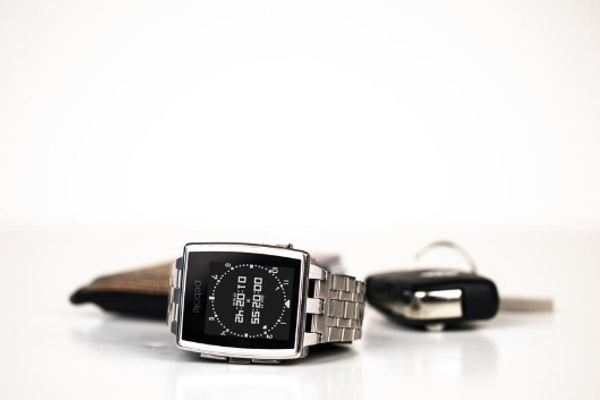 Pebble Steel Watch (for select Apple and Android devices), $199 at getpebble.com.