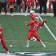 Brett Morris (11) threw three touchdown passes against Wilmington
