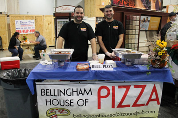 Jimmy & George Kontoulis of Bellingham House of Pizza