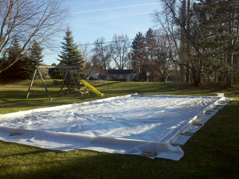 Build Your Own Backyard Ice Rink | Image Magazine
