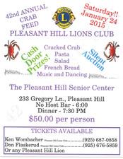 Medium crab feed flyer