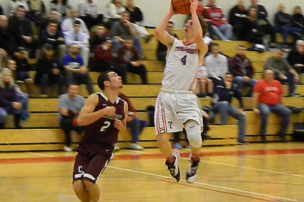 Nate Tenaglia (4) was too quick and too athletic for Chelmsford.