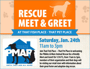 Pibbles and More Meet and Greet - start Jan 24 2015 1100AM