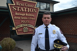New police chief shares goals concerns for West Grove Borough - 12232014 0517PM