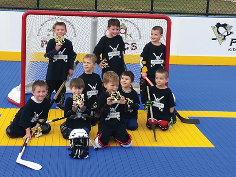New Dek Hockey Rink Attracts Players to Graham Park | North