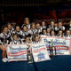 The Shaler Area Varsity Competition Cheerleading Squad