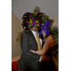 Courtesy photo Carasmark holds several lively fundraising events throughout the year, including masquerade parties.