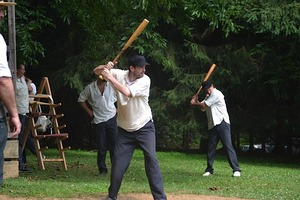 Vintage Base Ball Matches Mohican Base Ball Club MBBC of Kennett Square - start Apr 18 2015 1100AM