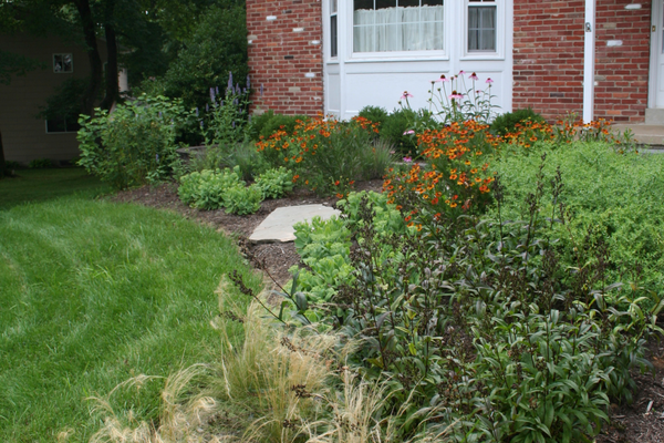 Courtesy photo Examples of Morgan's landscape design work.