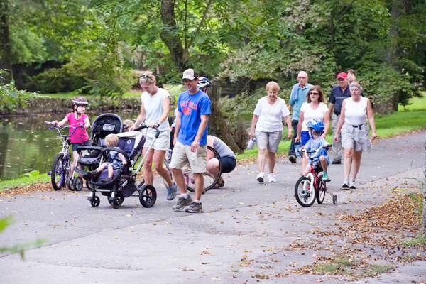 Courtesy photo Hagley bike-and-hike events are opportunities to explore the museum's offerings while also enjoying the outdoors.