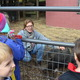 Photo by Richard L. GawMargaret Leardi, Animal Sciences Program teacher at the Centreville School, introduces students to Rhett, a pot-bellied pig at the school's barn.