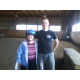 Courtesy photo Alex Luther, one of the fantastic volunteers, with Miss Kitty from Bright View Nursing home. The oldest student to ride was 99 years old.