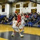 Nate Tenaglia (4) goes up for two of his 14 points against Andover.
