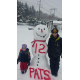 Nico Gonzalez,9 and his sister Ruby, Ruby, 2 show their Pats Pride!