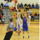Alex DiRocco (3) scored 13 points against Methuen.