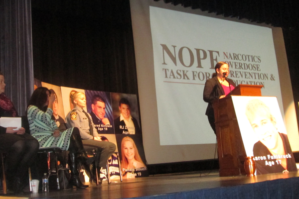 The NOPE program aims to prevent overdose deaths by getting teens to call 911.