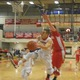 Alex DiRocco (3) drives to the hoop for two of his 19 points against Tyngsboro.