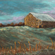 "Courtesy art ""Winter Barn."""