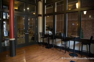Medium lobby opening into planned pharmacy phoenix building 418 s