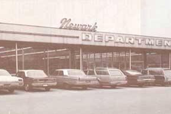The Newark Department Store was the classiest shopping choice in the days before shopping malls.