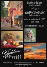 MARCH FEATURED ARTIST SHOW  RECEPTION  - start Mar 05 2015 1100AM