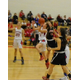Amanda Brown (3) drives through the lane for two of her four points against Marblehead.