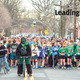 Runners gather at the starting line at the St Paddys Day 5k in March 2014 Photo by Albert Rende