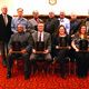 One team and five individual athletes were inducted into the Bordentown Regional Athletic Hall of Fame on Feb 7 2015 Pictured are seated Daryll Williams Phil Ingling Danielle Burns and Kim Limani and standing By Crammer Jim Utley Rich Haluska Bill Roscoe Al Ross Bert Rogers and Rich Ganges