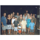 The Matriarch, right in the middle of her family on a recent vacation. Left to right: George Knights, Julie Knights, Lynne Hunt, Matt Hunt, Kyle Hunt, Jess Hunt, Bob, Nancy, Cody Knights, Hunter Knights, Nathaniel Hunt, Scott, Shauna, Terri Hunt, Logan Knights, Shane Hunt.