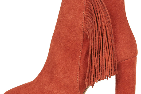 Muskrat Fringe Ankle Boots by Topshop - $150