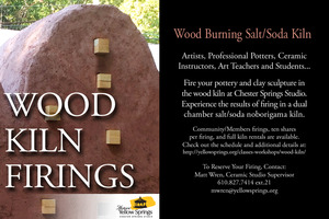 FULL KILN RENTAL WOOD BURNING SALTSODA KILN - start Mar 07 2015 1000AM