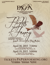 Flights of Fancy - start Apr 18 2015 0730PM