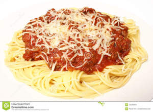 Medium spaghetti plate