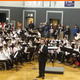 Robert Glynn and the 5th-grade band