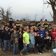 A group of students and parents from Dominion Martial Arts Institute of Mentorship traveled to North Central Illinois Sunday to help those impacted by the devastating tornadoes of Thursday, April 9.