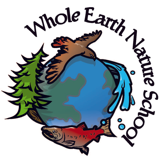 Wholeearthnatureschool side 20text 20logo thick outlined